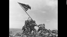 American Flag Being Raised