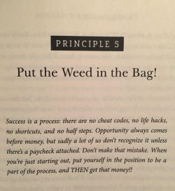 Put the Weed in the Bag!